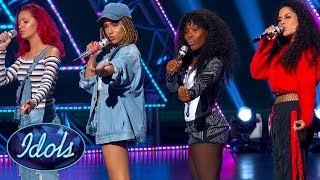 TOO HOT! 'DON'T TOUCH' American Idol Girl Group SMASH Audition! Idols Global - Video Youtube