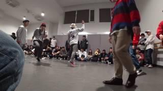 法政大学【B.O.A JACK】 vs 明治大学【あめいじー】  BEST16 / DANCE@LIVE 2017 RIZE KANTO CLIMAX