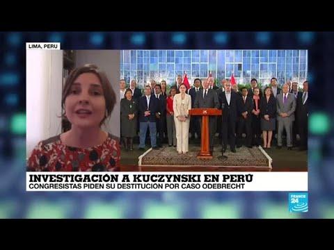 Presidente de Perú, Pedro Pablo Kuczynski, podría ser destituido
