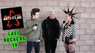 ANTI FLAG (Punk Rock) Interview: NEW ALBUM, NEW LIVE RECORD + STARTING THEIR OWN LABEL IN THE 1990s
