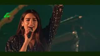 """Dua Lipa Performs """"Scared To Be Lonely"""" at BBC RADIO 1"""