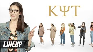 Can a Former Sorority Girl Guess Who's In a Sorority? | Lineup | Cut