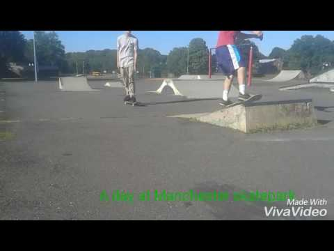 A day at Manchester skatepark