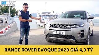 Đánh giá ưu nhược điểm Range Rover Evoque 2020 giá 4,3 tỷ