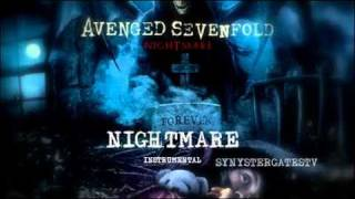 Gambar cover Avenged Sevenfold - Nightmare (Official Instrumental)