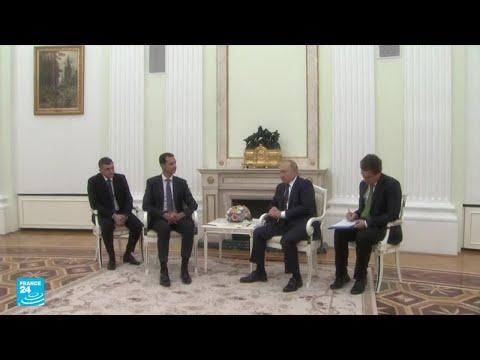 بوتين ينتقد التدخل الأجنبي في سوريا لدى استقباله بشار الاسد