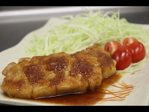 How to Make Pork Shogayaki