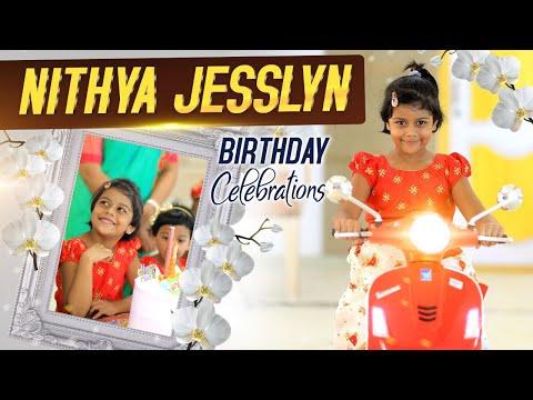 Nithya Jesslyn Birthday Video 2021|| Dr John Wesly daughter