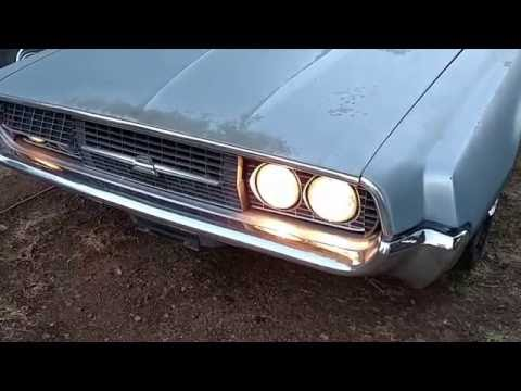 1967 Ford Thunderbird headlights and power trunk