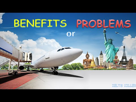 Video IELTS Writing - Tourism - Problems or Benefits
