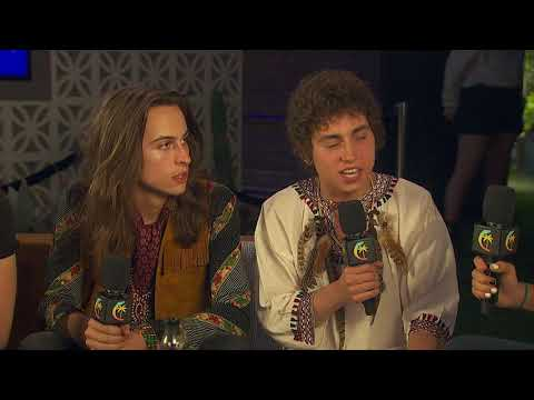 Greta Van Fleet Interview - Coachella 2018