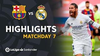 Highlights FC Barcelona vs Real Madrid (1-3)