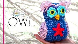 Whimsical Crochet Owl Tutorial