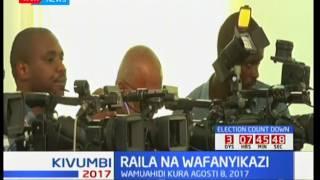 Raila akutana na wafanyikazi jijini Mombasa