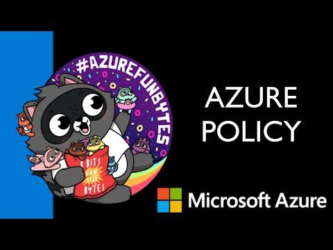AzureFunBytes – Intro to Azure Policy with Steven Murawski