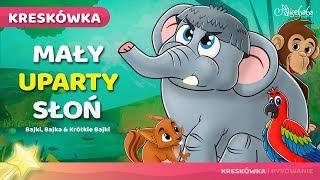 Mały uparty słoń bajki dla dzieci po Polsku | Bajka i kreskówka na Dobranoc