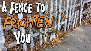 DIY Halloween Fence | Rickety Picket Fence Prop For Graveyard | Halloween Decoration Idea