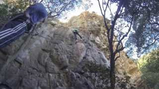 preview picture of video 'Climbing A Shortcut to Mushrooms 21/6b+'