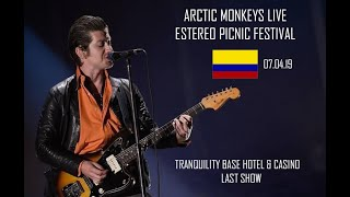 Arctic Monkeys Live Estereo Picnic Colombia 2019