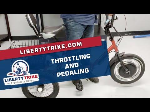 Liberty Trike | Throttling & Pedaling