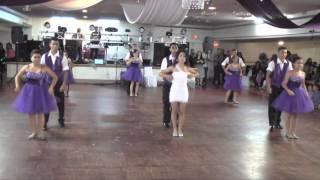 quinceanera's surprise dance - Solo por un Beso by Aventura