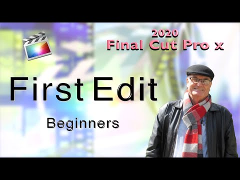 First Edit in Final Cut Pro X - training Final Cut Pro ... - YouTube