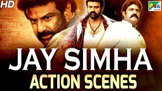 Jay Simha - Best Action Scenes | New Action Hindi Dubbed Movie | Nandamuri Balakrishna, Nayanthara