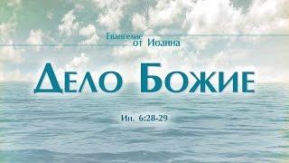 """Проповедь: """"Ев. от Иоанна: 34. Дело Божие"""" (Алексей Коломийцев)"""