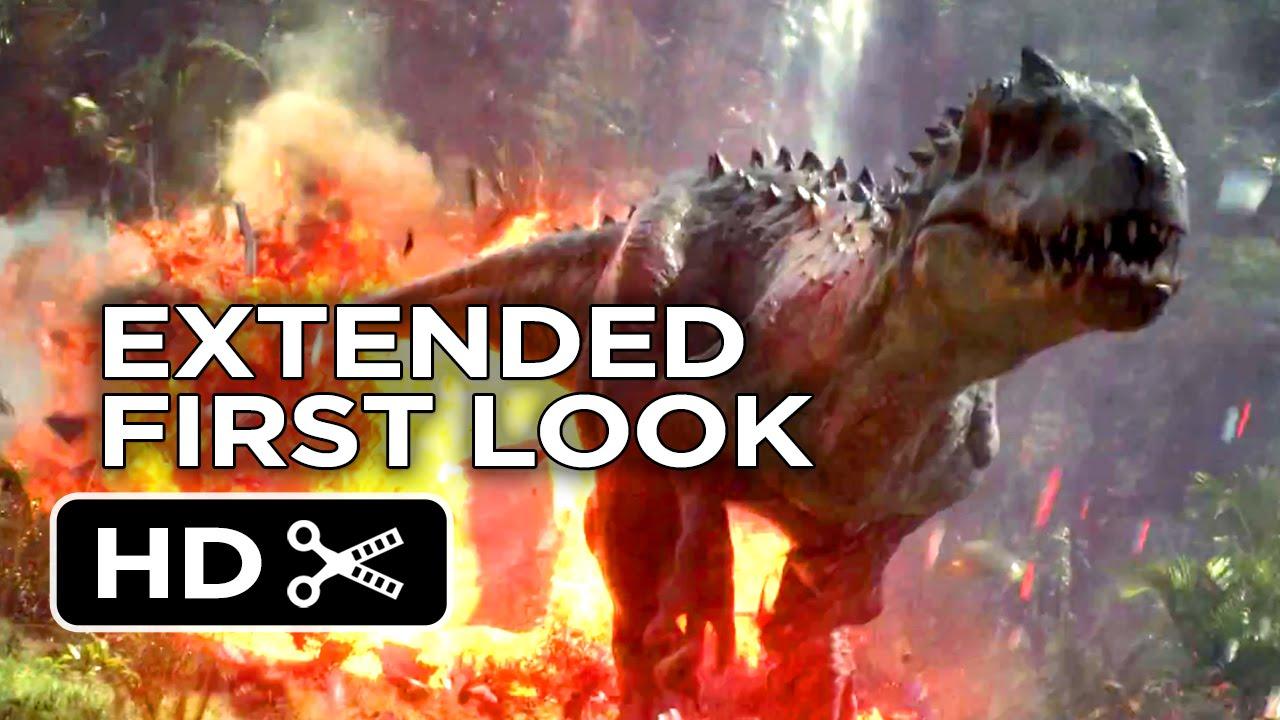 Jurassic World Official Extended First Look (2015) – Chris Pratt Movie HD #Estrenos #Trailers