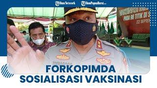 Capaian Vaksinasi Masih Rendah, Forkopimda Papua Barat Siap Turun Gunung Sosialisasi Vaksinasi