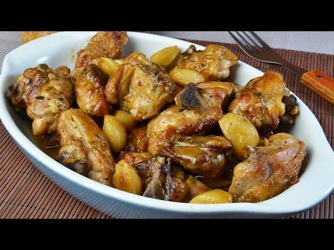 Pollo al Ajillo | Recetas de Cocina Española