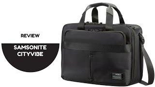 SAMSONITE Cityvibe Laptop Bag | First Impression Review