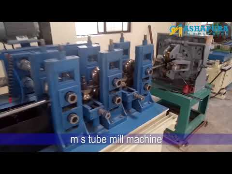 MS Tube Mill Machine