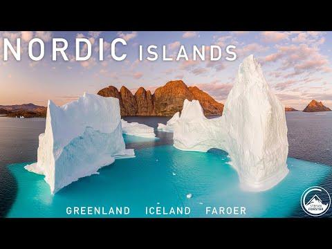 סרטון מרהיב של האיים הנורדיים באיכות 4K