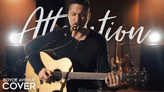 Attention - Charlie Puth (Boyce Avenue acoustic cover) on Spotify  Apple