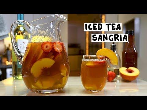 0 Sangria de ceai cu gheață