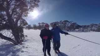 Skiing at Perisher with Mrs Savage