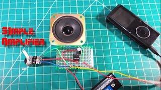 Make a simple Amplifier