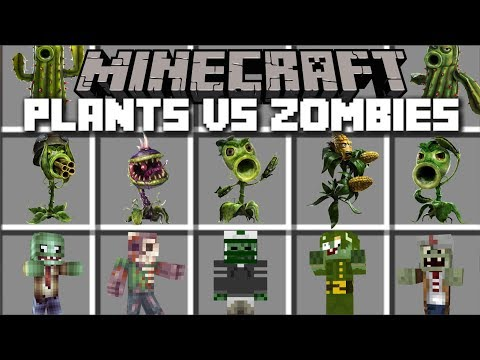 minecraft plants vs zombies mod 1.13