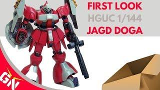 First Look: HGUC 1/144 Jagd Doga