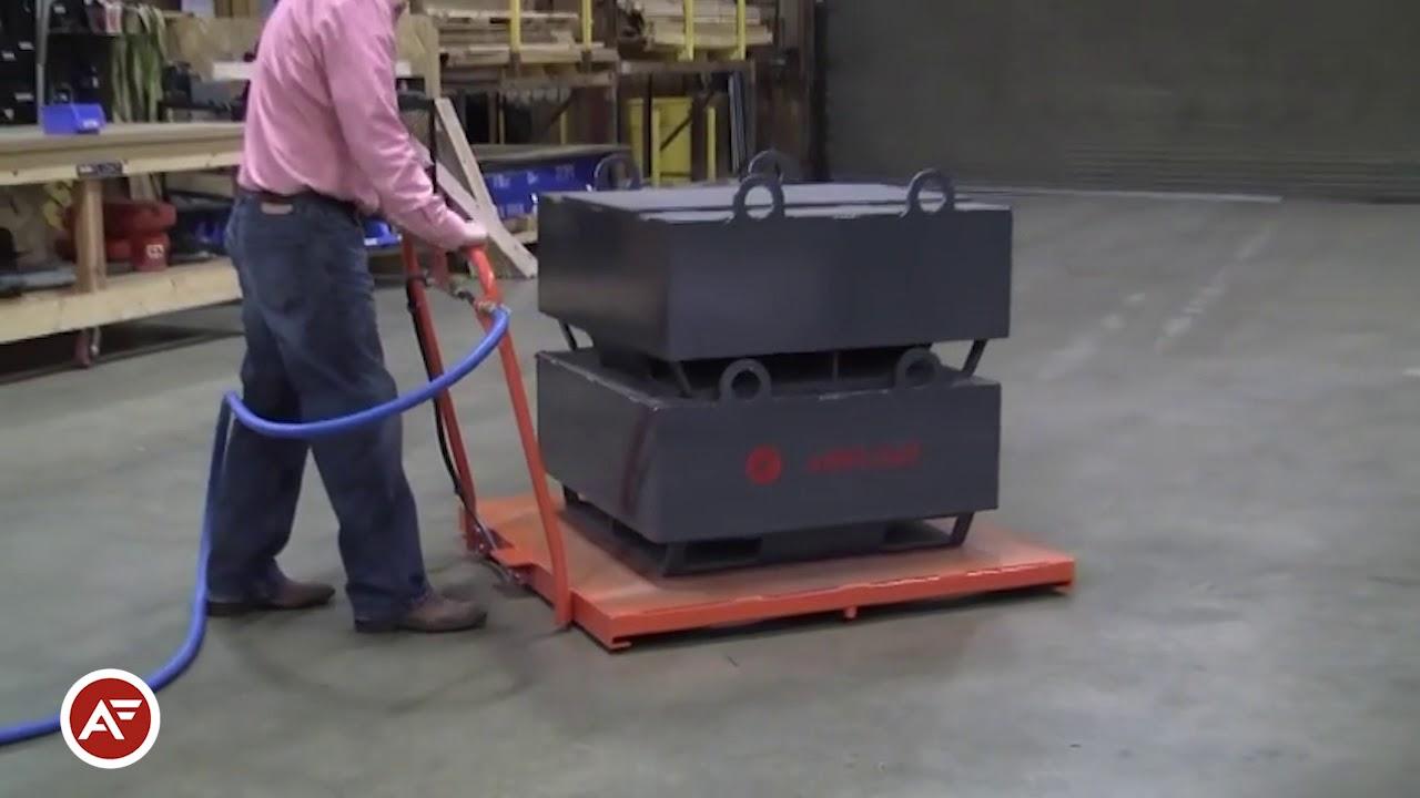 Air Caster Utility Platform