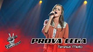 "Teresa Mello - ""Right to be Wrong"" | Prova Cega | The Voice Portugal"