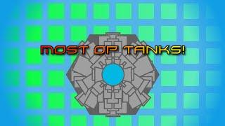 Most OP Tanks! | Diep.io Tank Creator