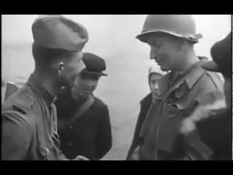Встреча на Эльбе, Торгау / (Elbe Day, Torgau) - 1945