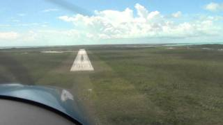preview picture of video '00175landiing in Exuma! RV-7A'