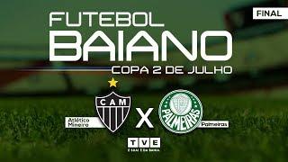 🔴 ATLÉTICO MG X PALMEIRAS   Final Da Copa 2 De Julho (sub-15) AO VIVO