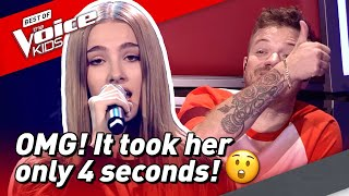 14-Year-Old Jade Has QUICKEST CHAIR TURN In The Voice Kids! 😱