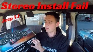 2 Out Of 5 Ain't Bad - Stereo Install