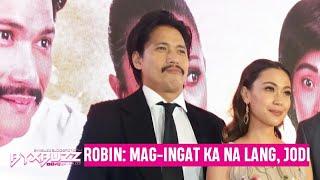"""Robin Padilla on falling in love with his leading lady Jodi Sta. Maria: """"Mag-ingat ka na lang Jodi"""""""