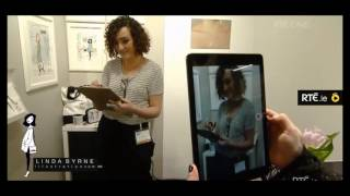 """Live Fashion Sketching\"" on RTE\'s Nationwide at Showcase 2017"